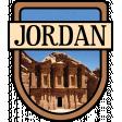 Jordan Word Art Crest