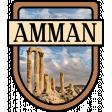 Amman Word Art Crest