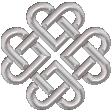 Celtic Silver Knot 1
