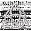 Celtic Silver Triquetra