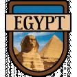Egypt Word Art Crest