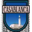 Casablanca Word Art Crest