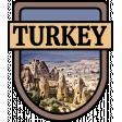 Turkey Word Art Crest