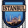 Istanbul Word Art Crest