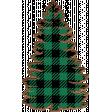 Green NorthC Buffalo Plaid Tree