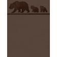 Brown Bears NorthC-B Journal Card 3x4