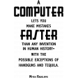 Computer Faster THWA Word Art