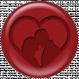 Couple Heart Ann Brad Flair