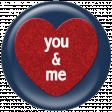 You & Me Heart Ann Brad Flair
