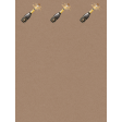 Champagne Bottle Ann Journal Card 3X4