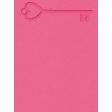 Heart Key Ann Journal Card 3x4