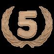 5th Anniversary Wood Medallion