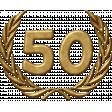50th Anniversary Gold Medallion Ann
