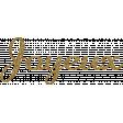 Joyeux SNoel Gold Glitter Word Art