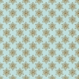 Blue Glitter Snowflakes SNoel Paper