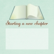 Open Book ANW Journal Card 4x4