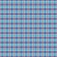 Blue Waiting Plaid Paper