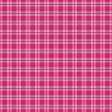 Pink Waiting Plaid Paper