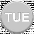 Grey Pleather Weekday - Tue