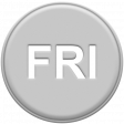 Grey Pleather Weekday - Fri