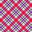 Purple and pink plaid paper