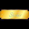 Plate - Sister