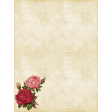 Vintage Floral Journal Card 2
