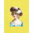 Woman Journal Card