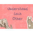 Understanding Each Other Pocket Card