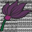MHA - purple flower