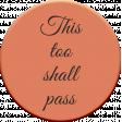 MHA - This too shall pass