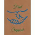 Find Support pocket card