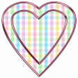 Heart - Baby Pastel 1 Pink