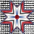 Patriotic Kaleidoscope - Star 2