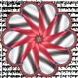 Patriotic Kaleidoscope - Flower 6