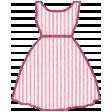 Seersucker Summer - Dress 1 - Pink