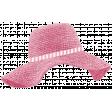 Seersucker Summer - Hat 1 - Pink