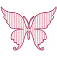 Seersucker Summer - Butterfly 1 - Pink