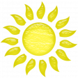 Glassy Beach - Sun 1