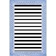 Antique Paper Lace Frame 5 - Blue