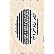 Antique Paper Lace Frame 12 - Peach