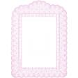 Antique Paper Lace Frame 7 - Pink