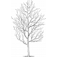 Autumn Day - Stamp Tree Tall