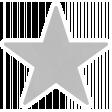 Christmas Day_Sticker Star 3 Gray