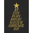 Christmas Day - JC Words Gold Black-3x4