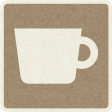 Picnic Day_Pictogram Chip_Brown_Cup