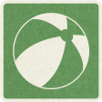 Picnic Day_Pictogram Chip_Green_Ball