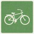 Picnic Day_Pictogram Chip_Green_Bicycle