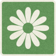 Picnic Day_Pictogram Chip_Green_Flower