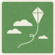 Picnic Day_Pictogram Chip_Green_Kite
